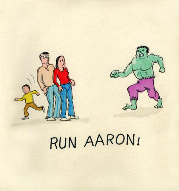Run Aaron!