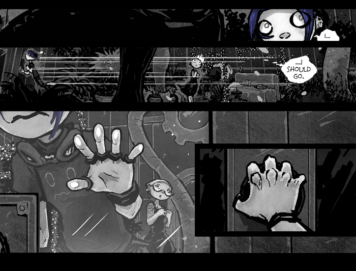 BREAK YOUR STUPID HEART (PAGE 108-B)