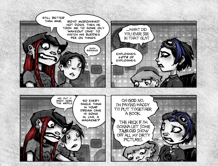 BREAK YOUR STUPID HEART (PAGE 116-A)